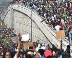 Haitianos vão às ruas pedir renúncia de presidente